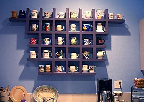 Http Susandennis Makeover Images Coffeeshelves Jpg Cute Pinterest Coffee Shelves And Display